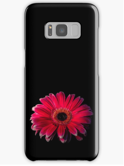 Red Gerbera Samsung Galaxy Phone case
