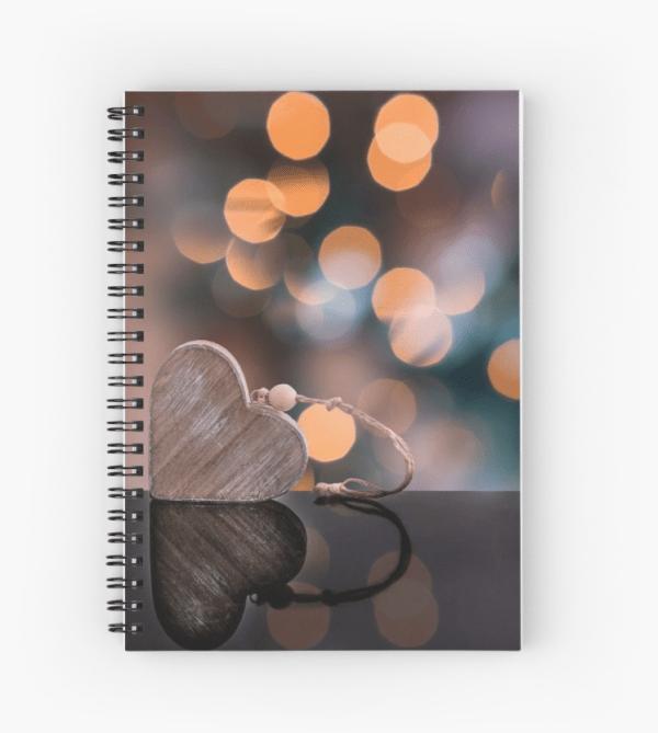 Love Heart Notebook
