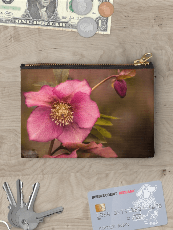 Christmas Rose Studio Pouch