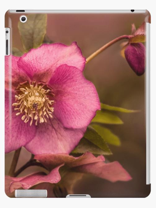 Christmas Rose iPad Case
