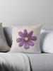 cosmos flower cushion - small