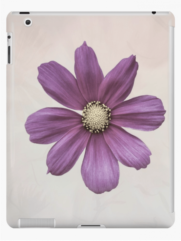 cosmos flower iPad cases