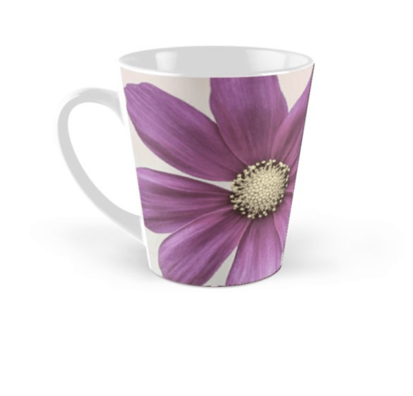 Cosmos Flower mug - tall