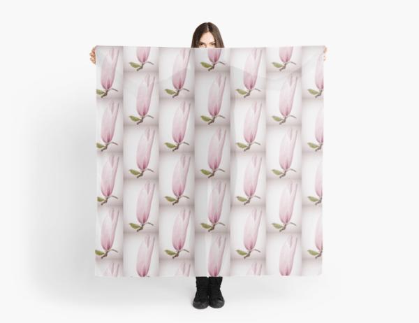 Magnolia flower Scarf