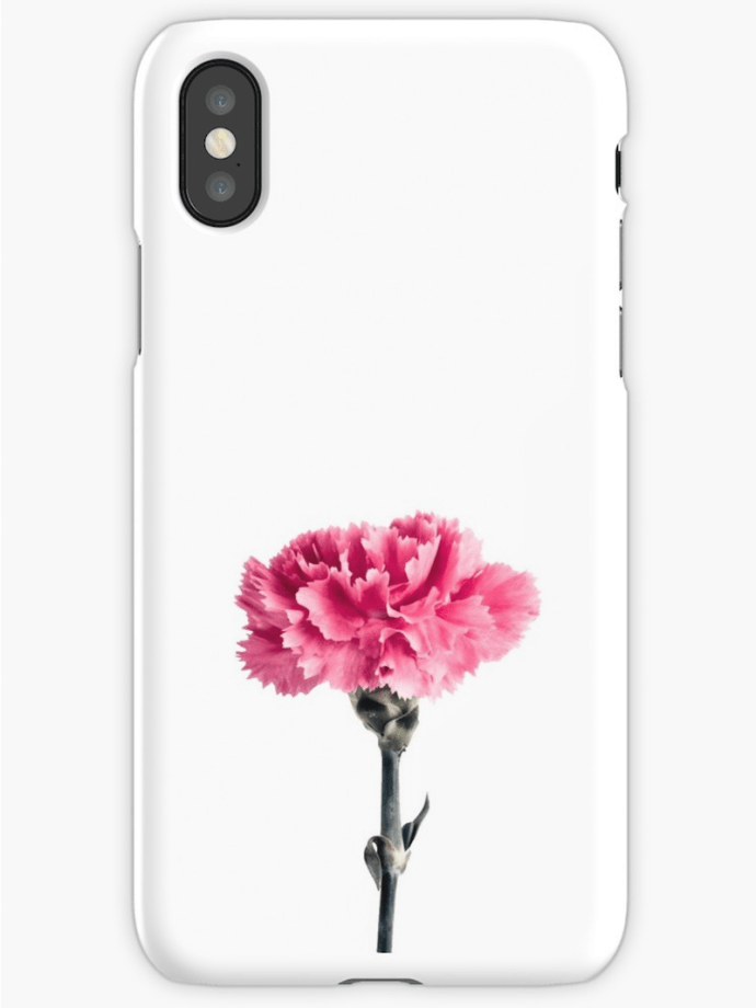 Carnation Flower iphone cases