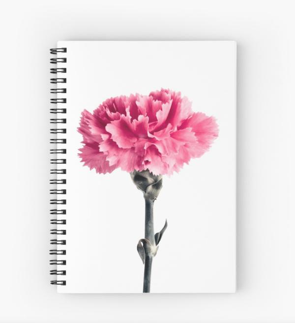 Carnation flower Notebook
