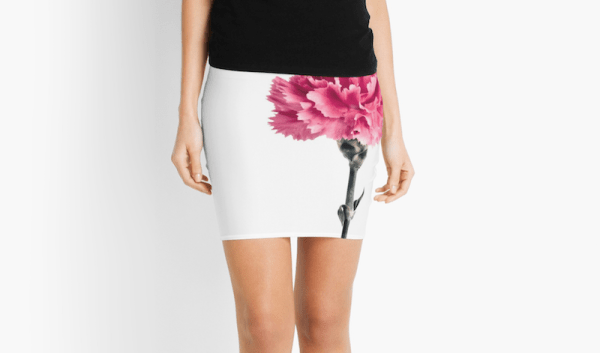 Carnation flower Skirt