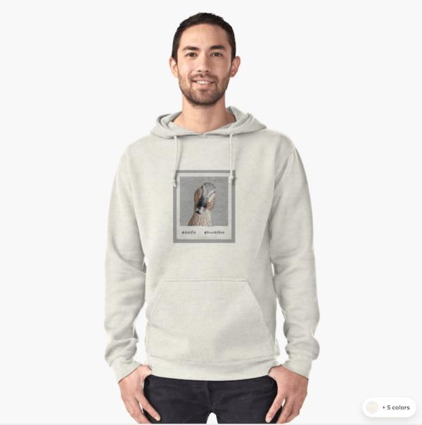 #Duckface hoodie
