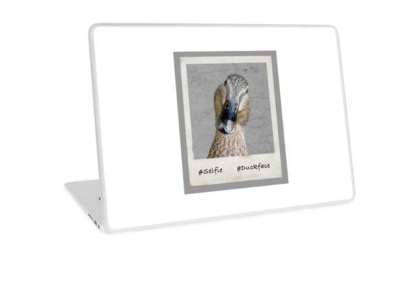 #duckface Laptop Skins