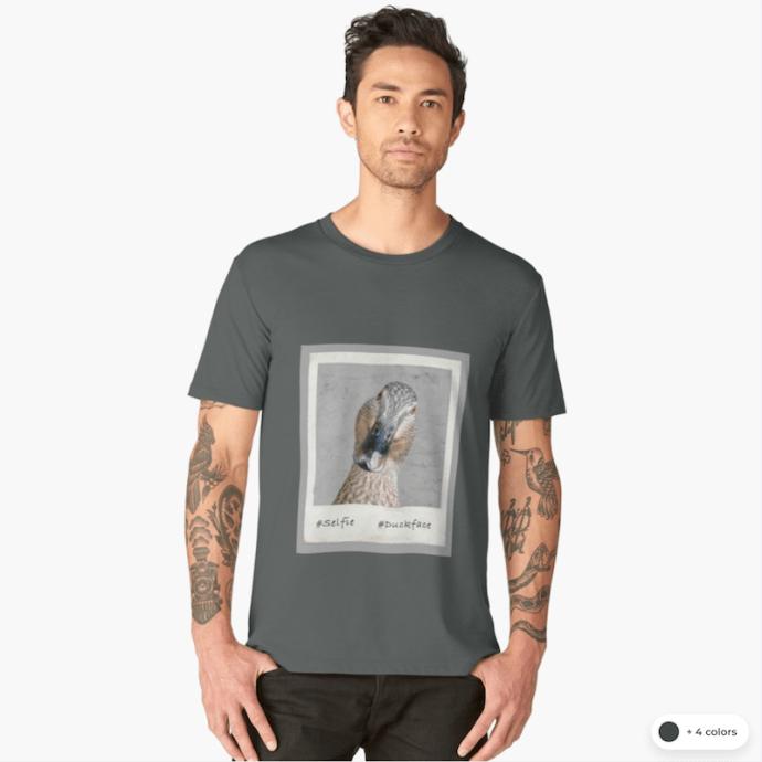 #duckface t-shirts