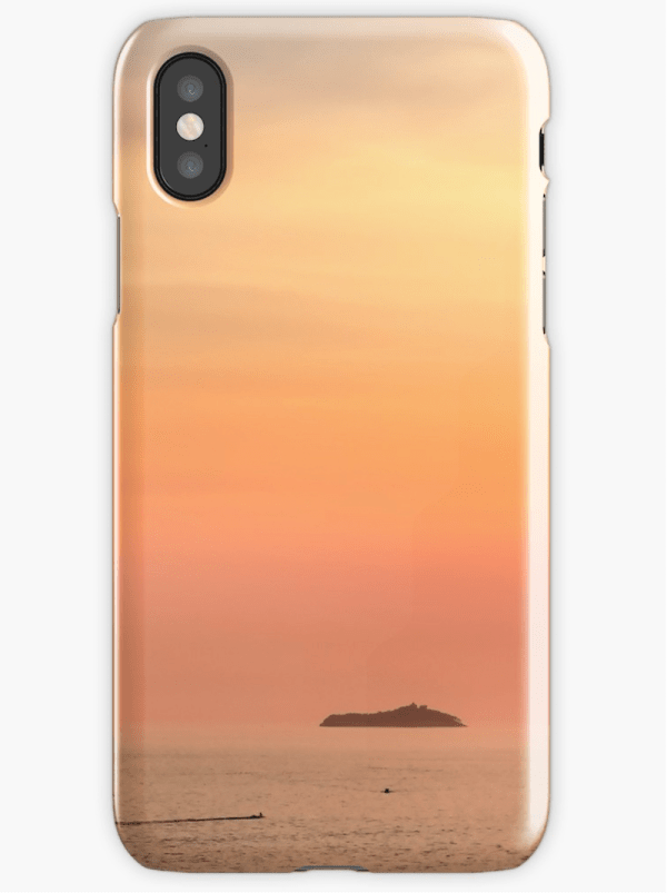 Dubrovnik sunset iPhone cases
