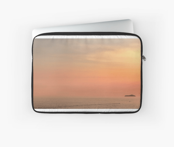 Dubrovnik sunset laptop sleeve