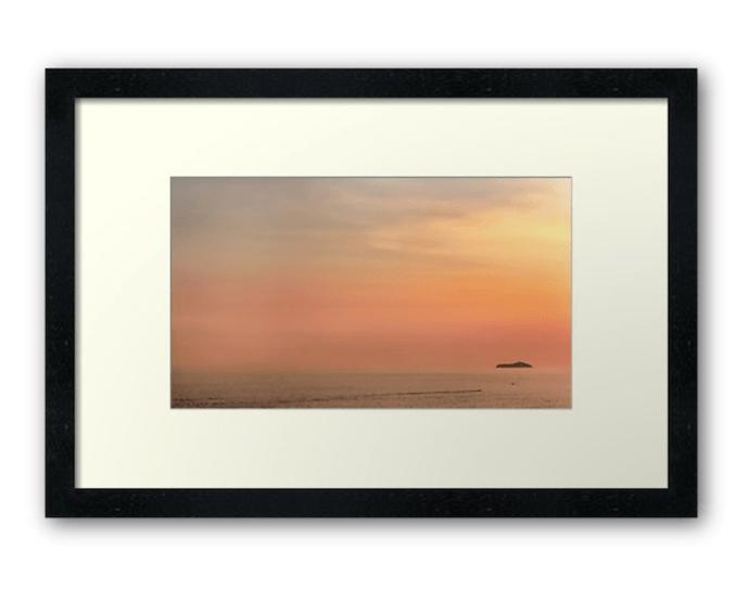 Buy Dubrovnik sunset art - photographic print