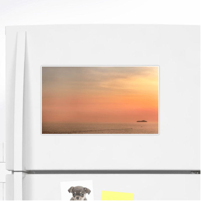 Dubrovnik sunset stickers - extra large