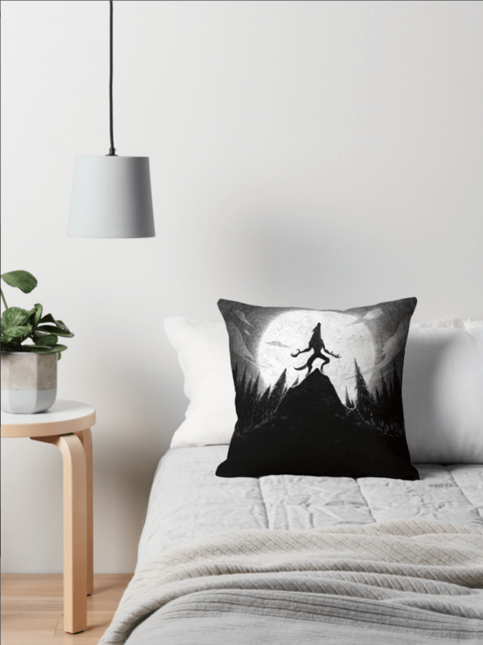 Halloween with Redbubble - check out these werewolf cushions!