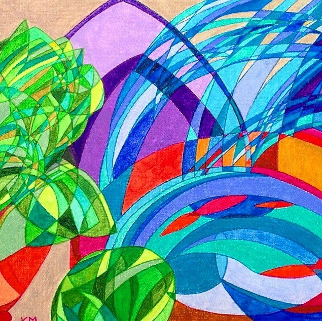 Bold abstract art