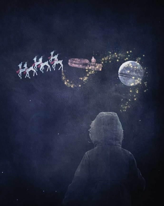 Christmas composite art