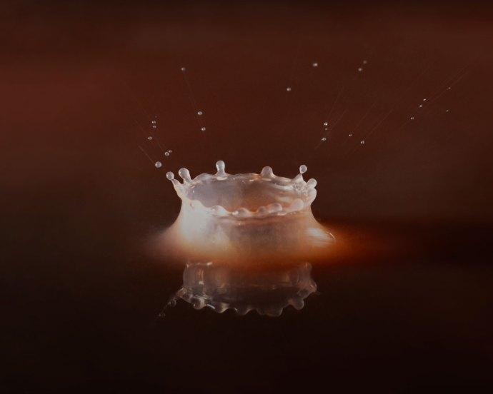 splash! Water drop photography