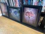framed pictures ready for exhibition