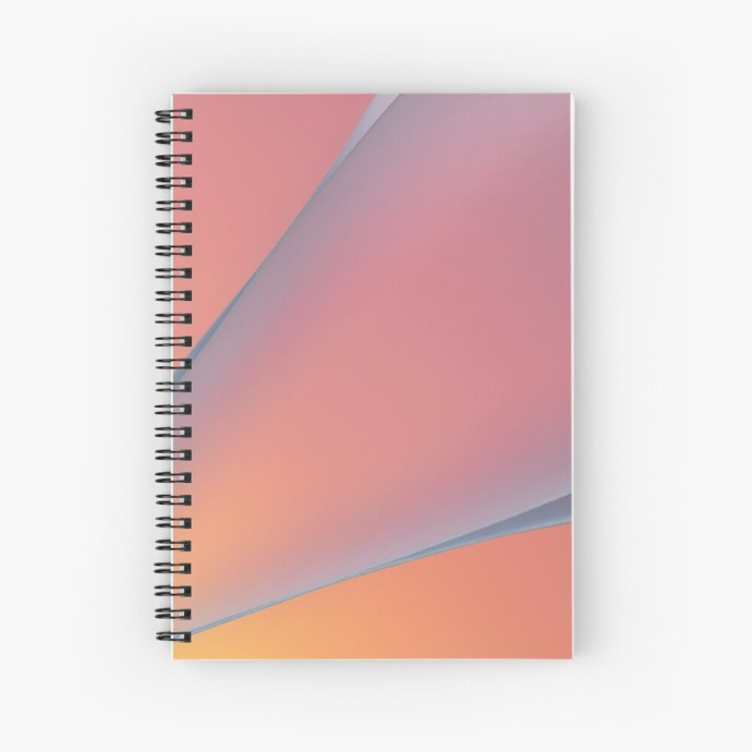 patterned notebook
