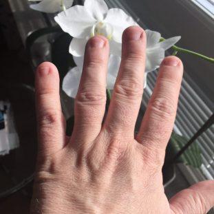 Idag skapar handen nytt.
