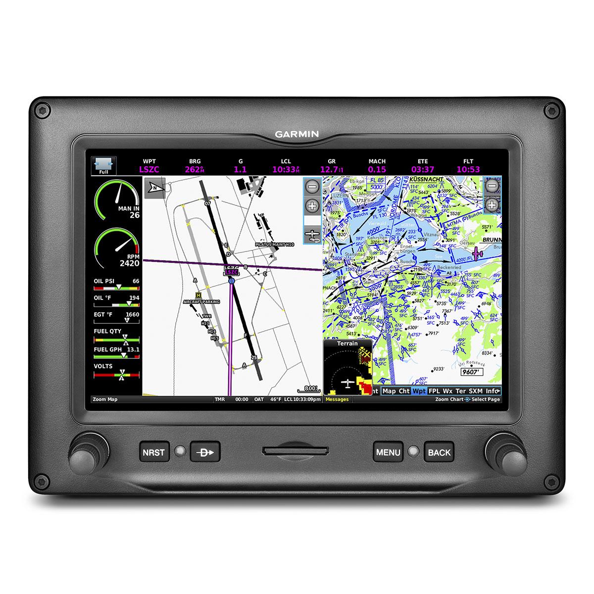 Garmin Gdu 450 Experimental Garmin G3x Touch 7 Landscape Display 010 00