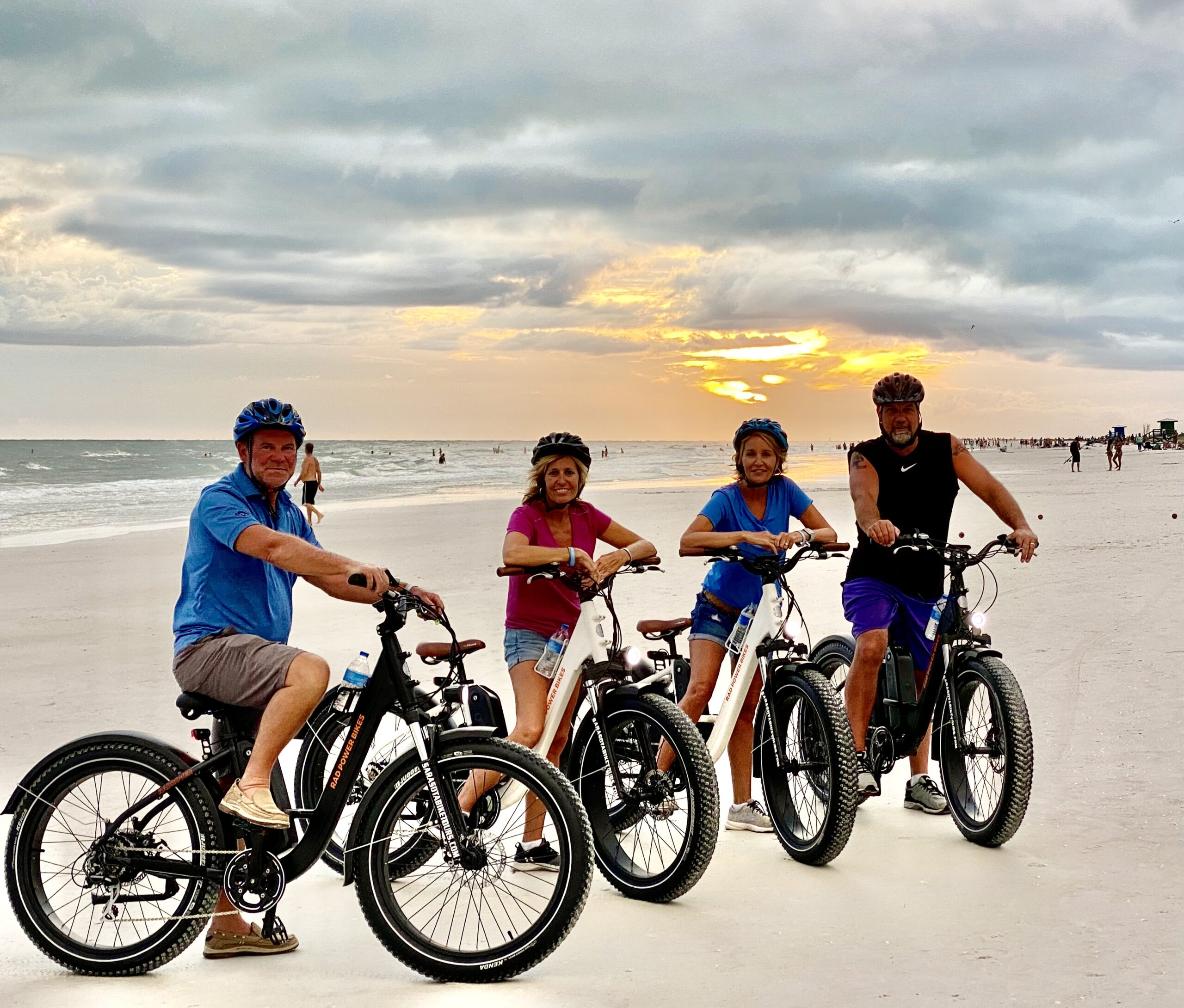 Ebike Siesta Key sunset tour