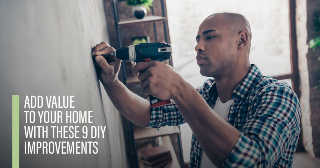 diy 9 improvements for home