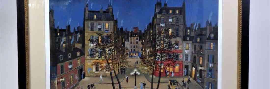 Michel Delacroix (born 1933) French, Lithograph