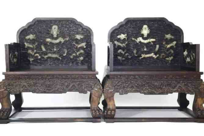 qing dynasty chairs