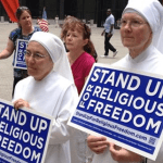 Xavier Becerra Tried to Make These Catholic Nuns to Fund Abortions, But He Won't Admit It