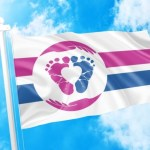 New Pro-Life Flag Celebrating Moms and Babies Wins Vote to Represent Pro-Life People Worldwide