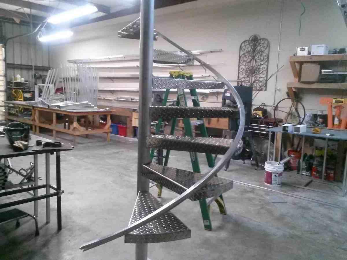 Sarasota Metal Spiral Stairs