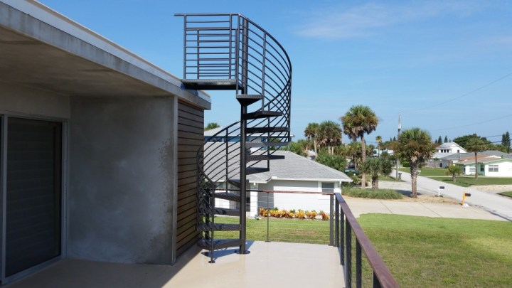 Daytona - New Smyrna beach Dillard Spiral Stairs