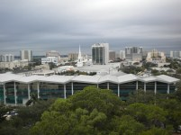 Downtown Sarasota from the Spector Office Building
