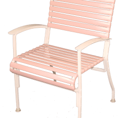 Patio Chair Repair Vinyl Strap Rattan Kitchen Chairs Furniture Clearwater