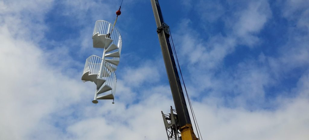 Argentum Welding -Sarasota- Spiral Stairs