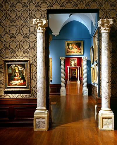 Hallway, Ringling Museum of Art