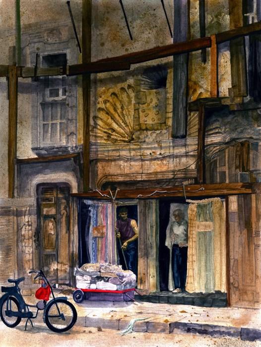 Crumbling Edifice, Douglas H. Teller