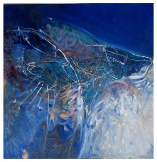 """Finn, 2012, oil on canvas, 24"""" x 24"""""""