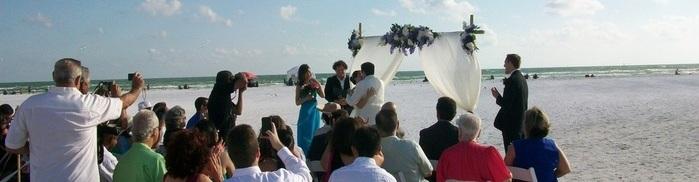 Top Rated Sarasota Fl. Beach Wedding Venues