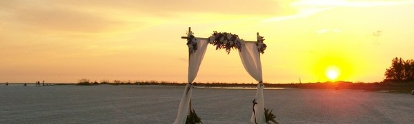 Tropical Beach Weddings by SarasotaWeddingIdeas.com