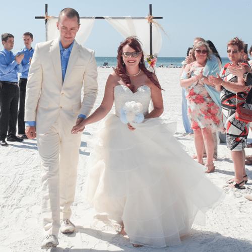 Siesta Key Beach Wedding Ceremony: Sarasota, Siesta Key & Lido Key Beach Weddings