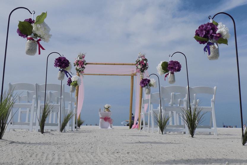 Lido Key Beach Wedding