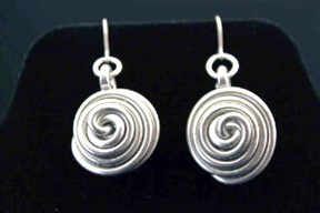 Spiral Nest Earrings