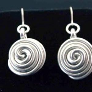 Spiral Nest Earrings