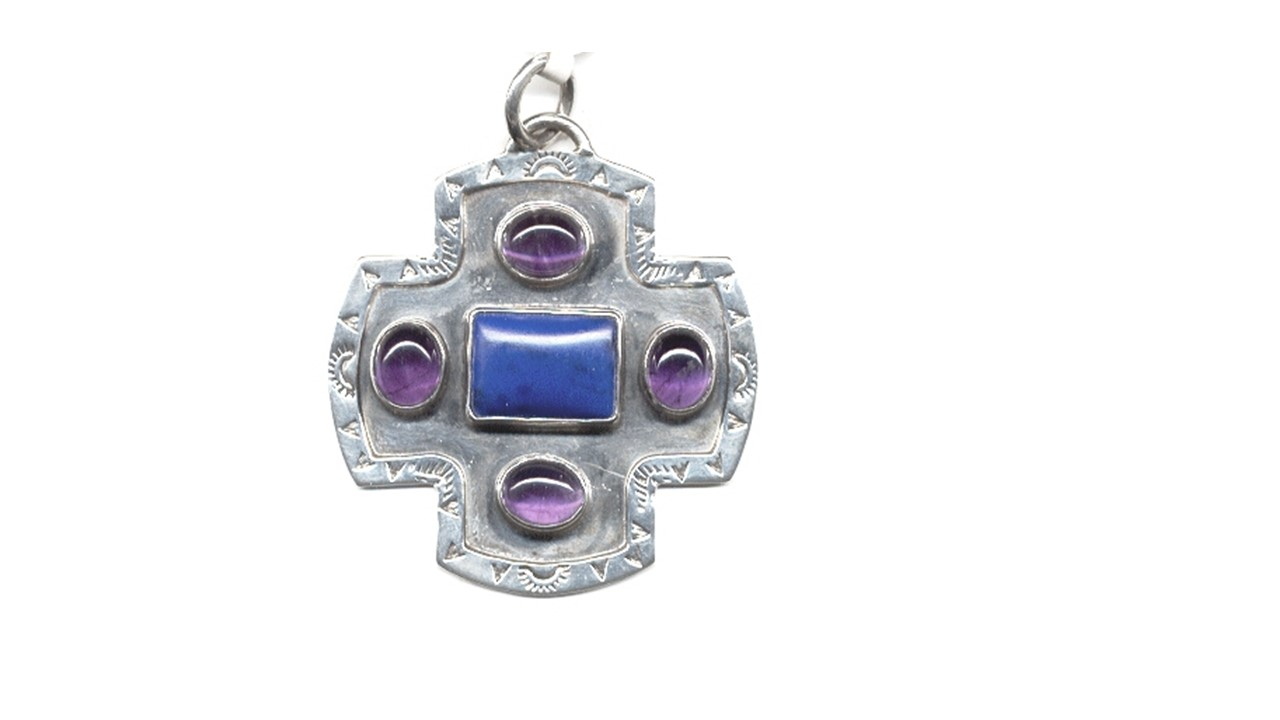 Sterling Gypsy Cross