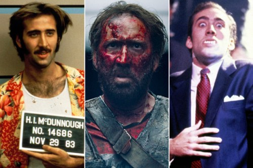 Nic Cage is the Meryl Streep of bats–t-crazy characters