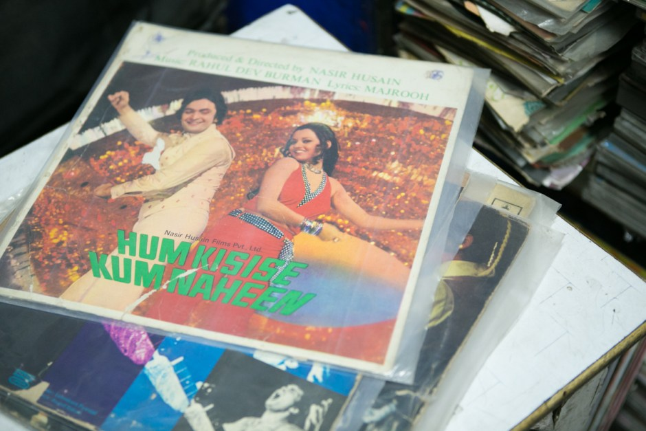 Record-digging in Delhi 2