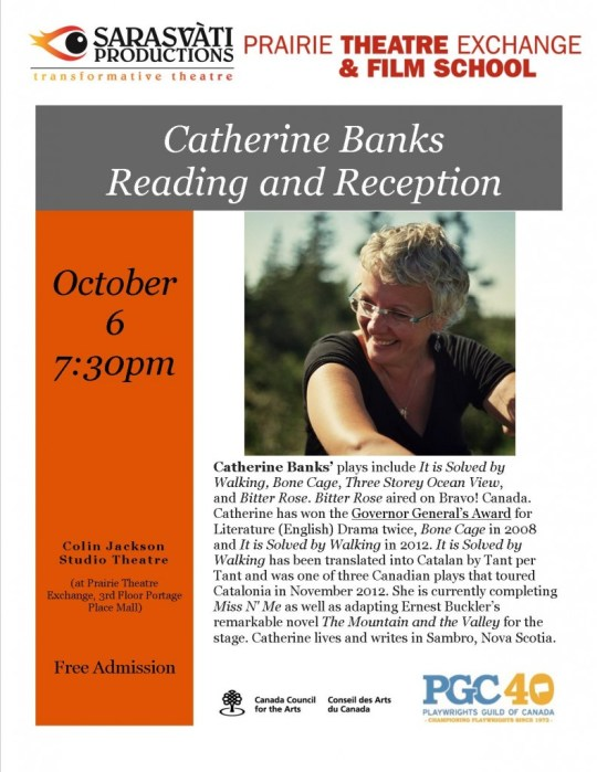Catherine reading flyer